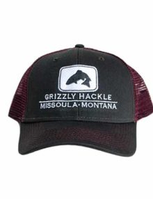 Grizzly Hackle Trucker Hat