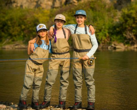 Simms Kid's Tributary Wader