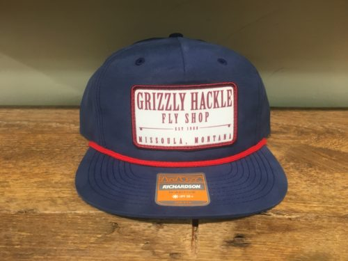 Grizzly Hackle Patch Vintage Hat