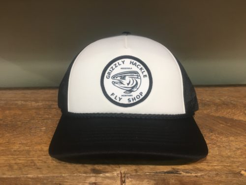 Grizzly Hackle Circle Fish Foam Hat