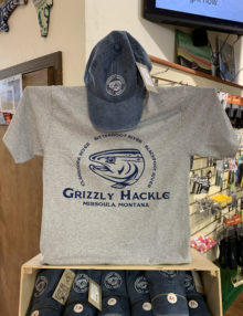 Grizzly Hackle Hat/T-Shirt Combo